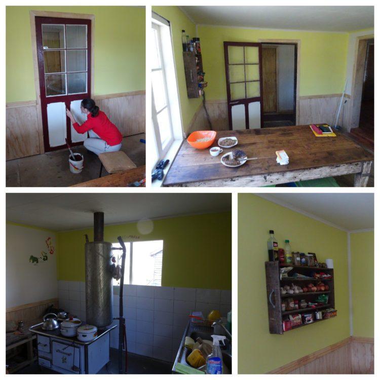 Fin des travaux dans la maison