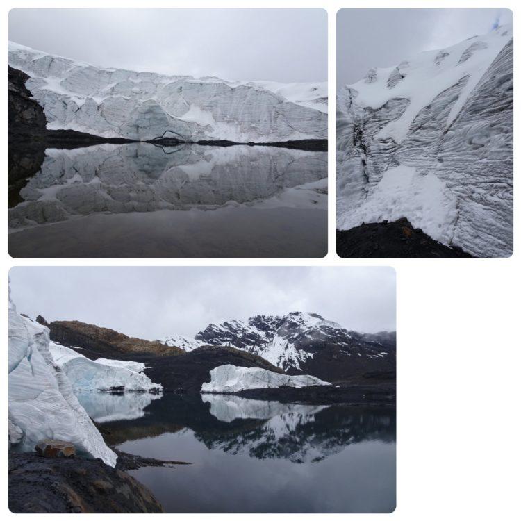 Quelques vues de ce qu'il reste du nevado Pastoruri