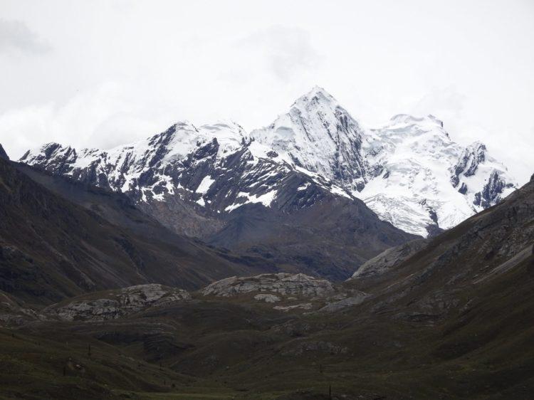 Neige en vue, on approche du glacier !