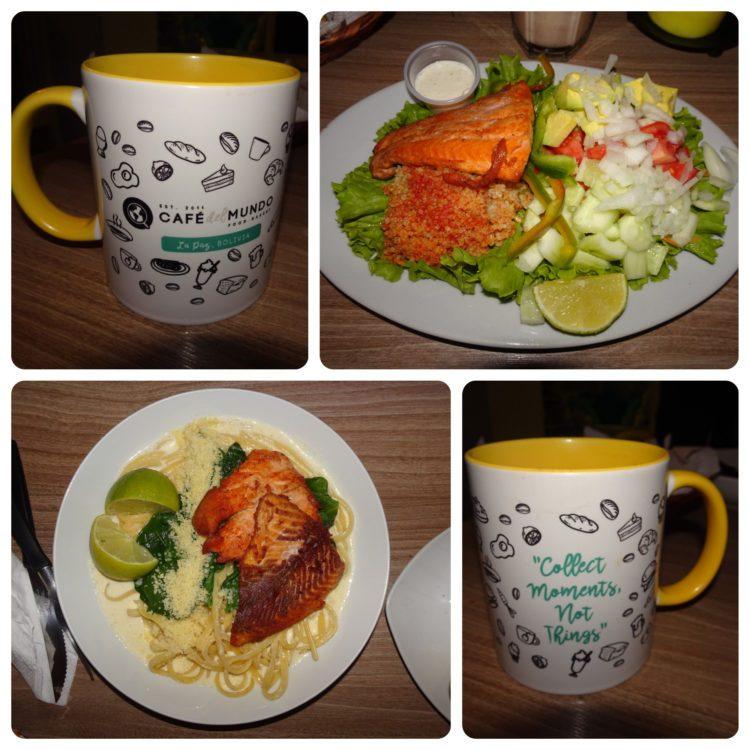 Cafe del Mundo : round 2 (et leur jolie tasse !)