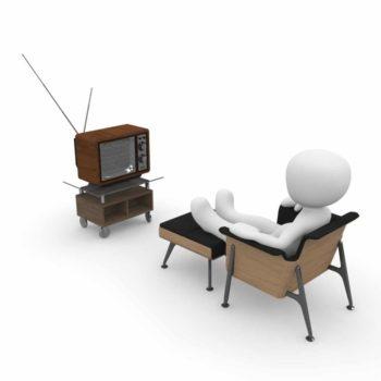 3Dman devant la télévision