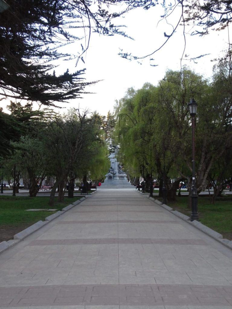 Belle allée de la Plaza de Armas
