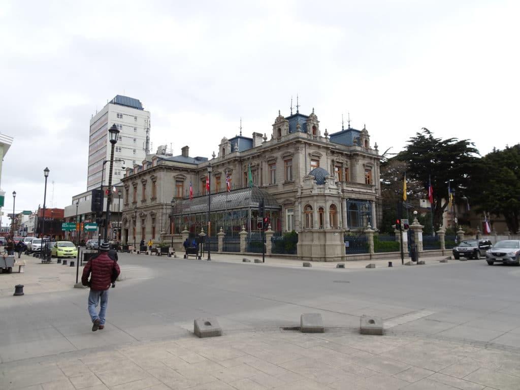 Palacio Sara Braun sur la Plaza de Armas !
