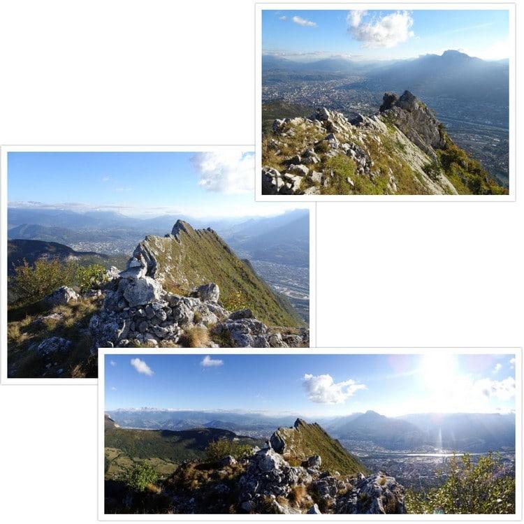 Vue depuis le sommet nord du Néron