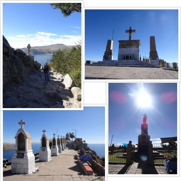 Les 7 chapelles au sommet du calvaire